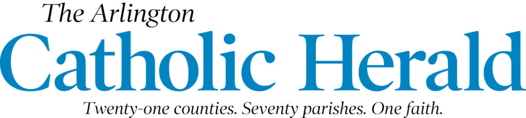 Arl ington Catholic Herald logo.