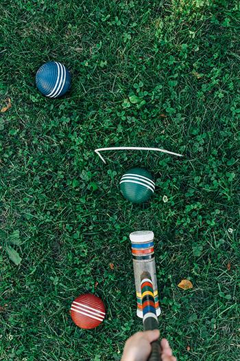 Croquet.