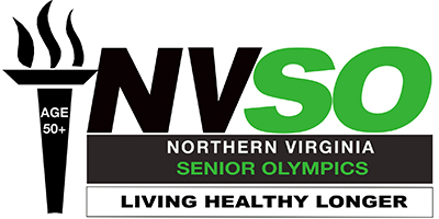 Northern Virginia Senior Olympics logo.