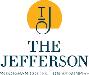 The Jefferson logo.