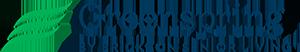 Greenspring logo.